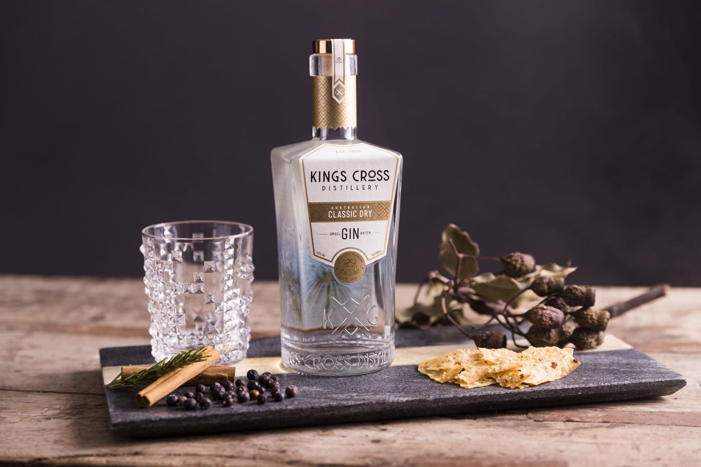 Ucidity gets into gin