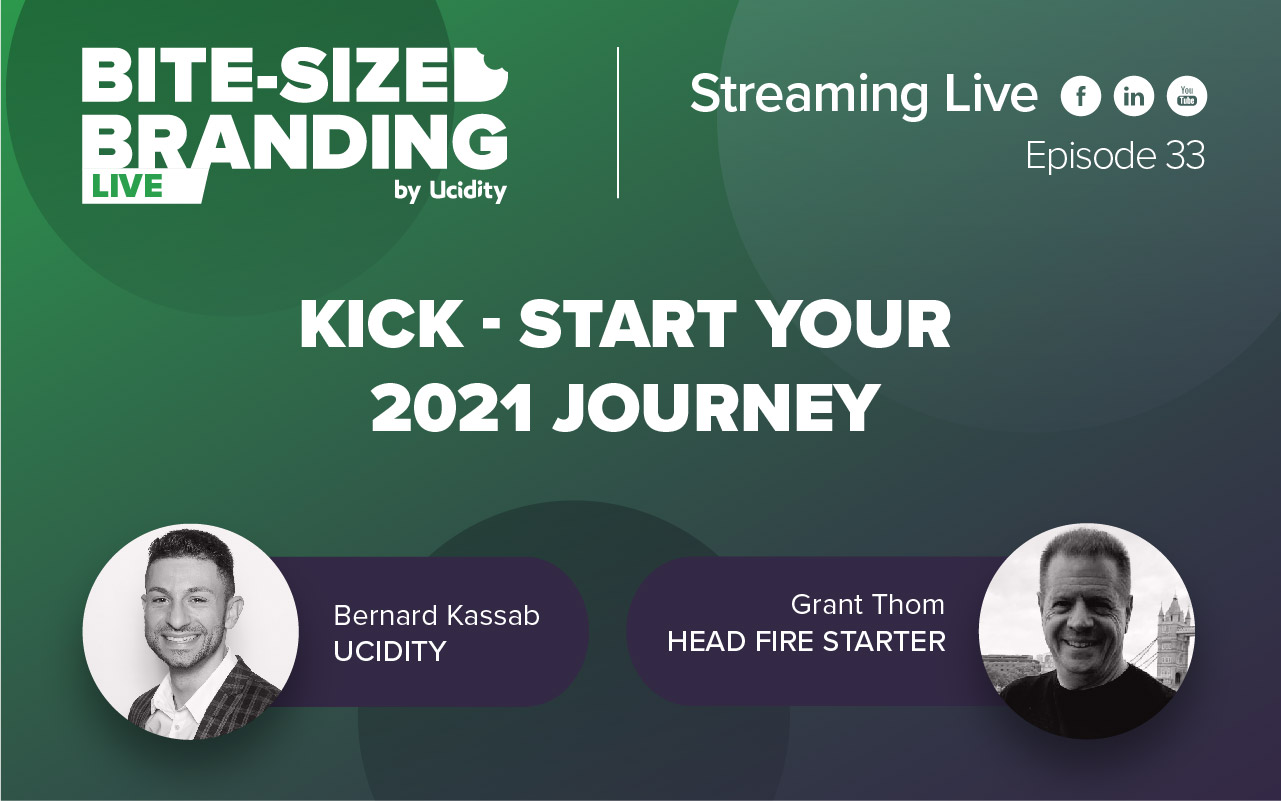 Bite-sized Branding Episode 33 - What we have learnt from 2020, Rebranding, Buyers Journey