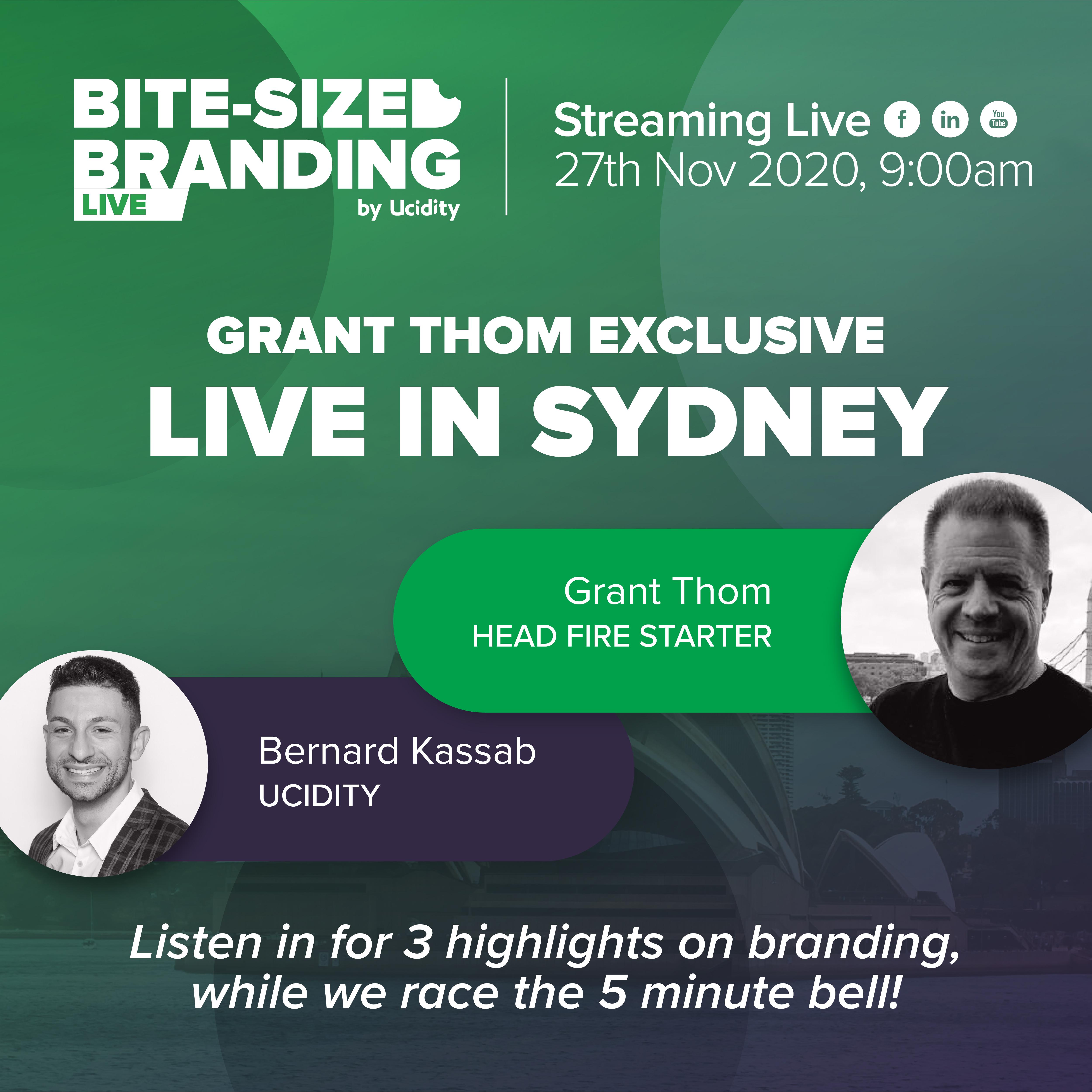 Bite-sized Branding Episode 30 - Talking about Rebrands, LinkedIn Refresh and Branded Interiors