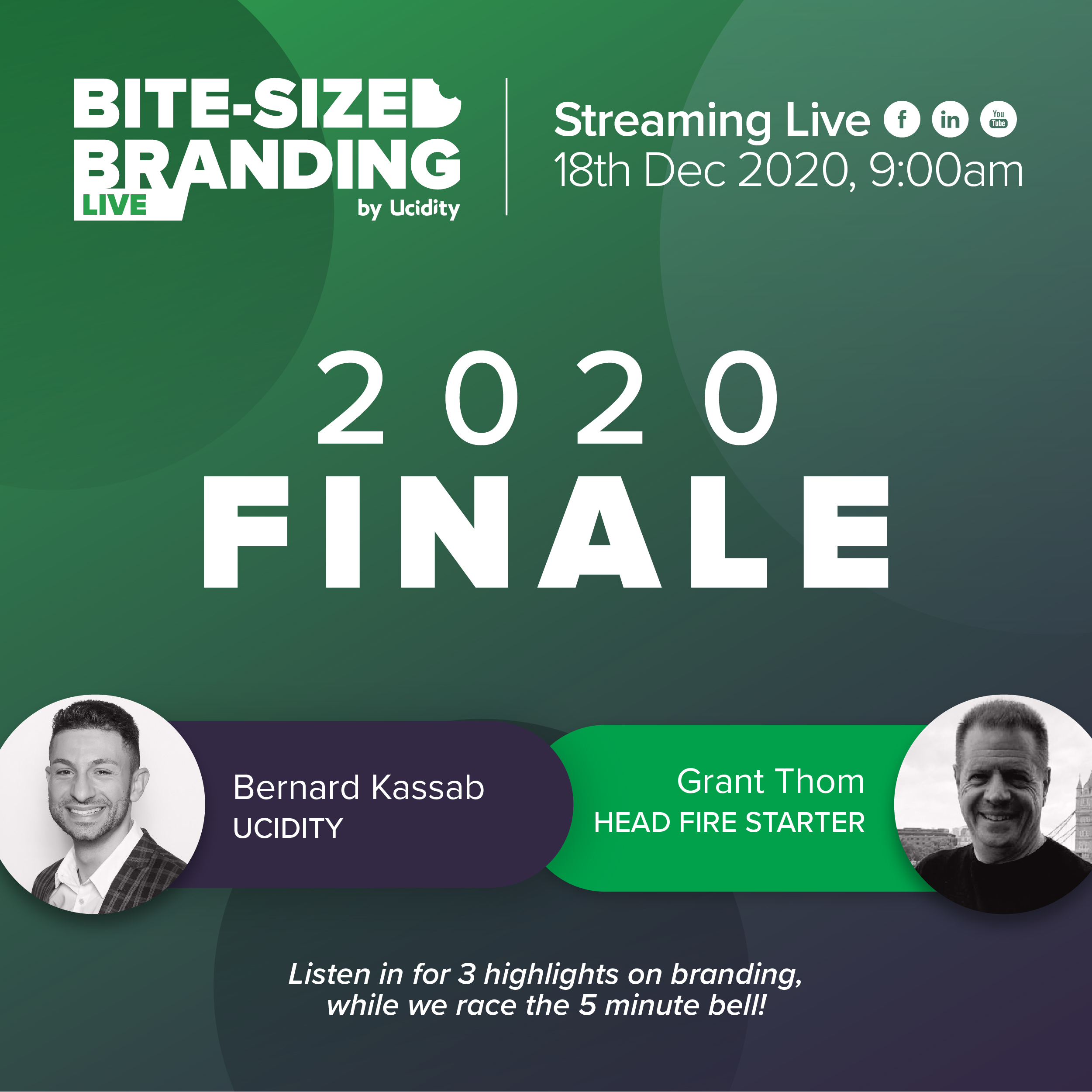 Bite-sized Branding Episode 32 - What To Look For In 2021 And Our Favorite Marketing Ideas